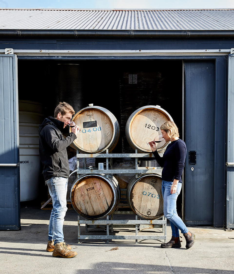 Matt and Tara Campbell established their winery in 2008.