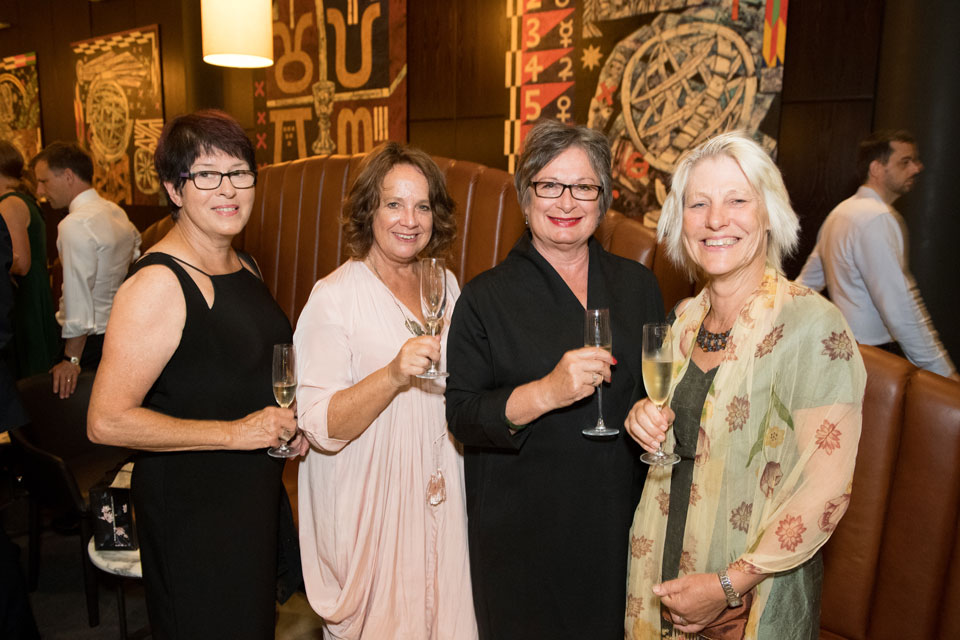 Margaret Sutherland, Marion Campbell, Gail Cowley  and Wendy Healy