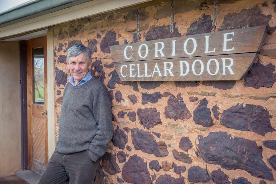 Mark Lloyd, a pioneer of sangiovese in Australia.