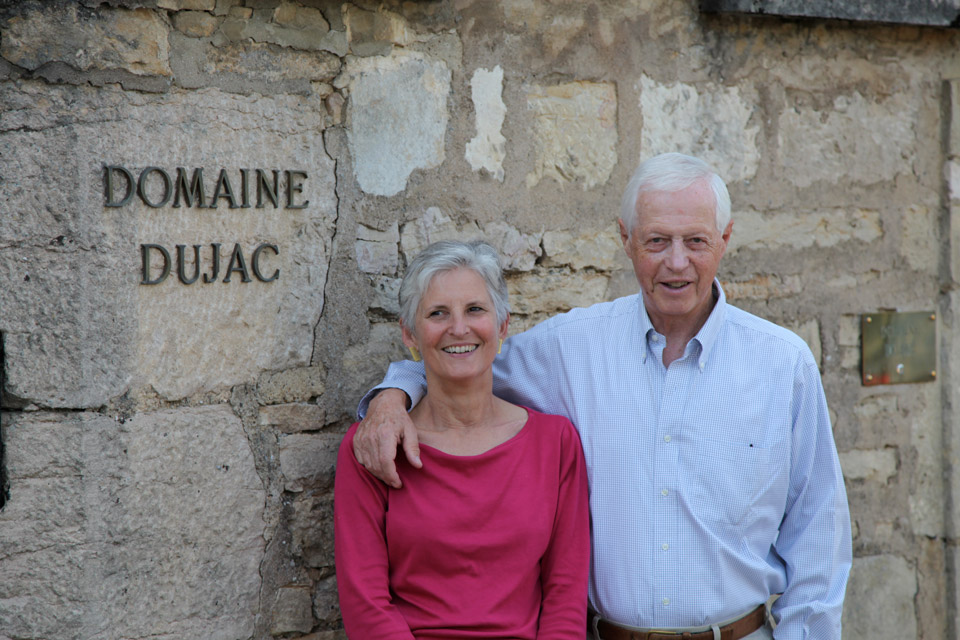 Jacques and Rosalind Seysses, Domaine Dujac.