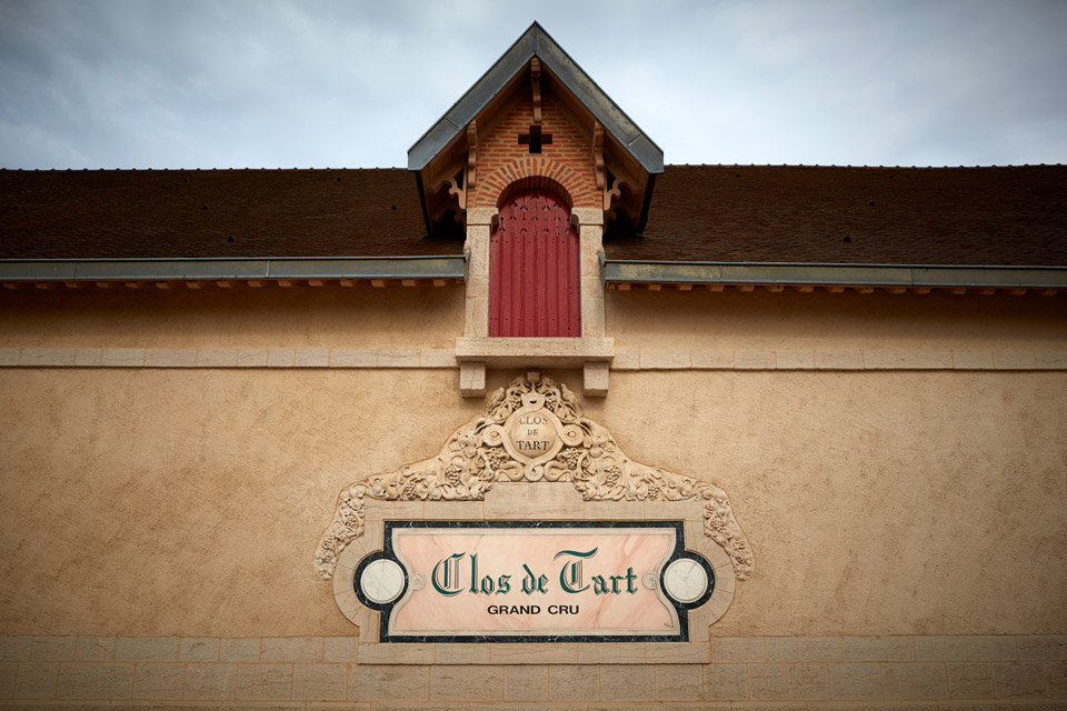 Clos de Tart, founded in the  12th century.