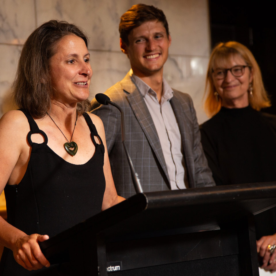 NZ Winemaker of the Year winner Jen Parr, from Valli Vineyards.
