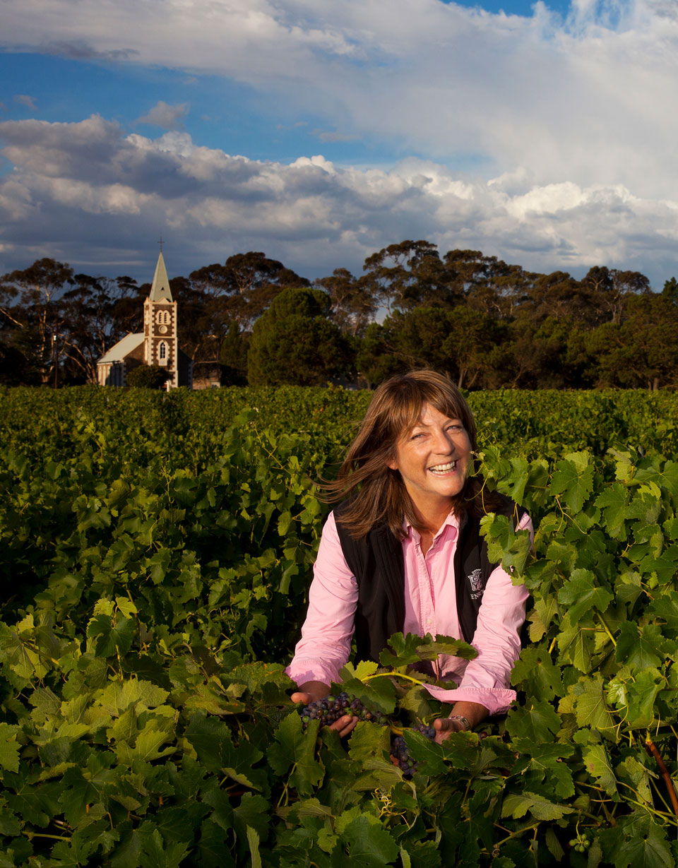 Prue Henschke  was the joint winner of the Winemaker  of the Year Award  in 2006