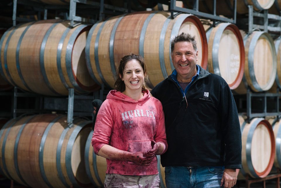 Amy and Andrew Smith craft some of the biggest reds in Rutherglen at Warrabilla Wines