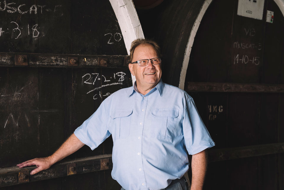 Acclaimed winemaker David Morris