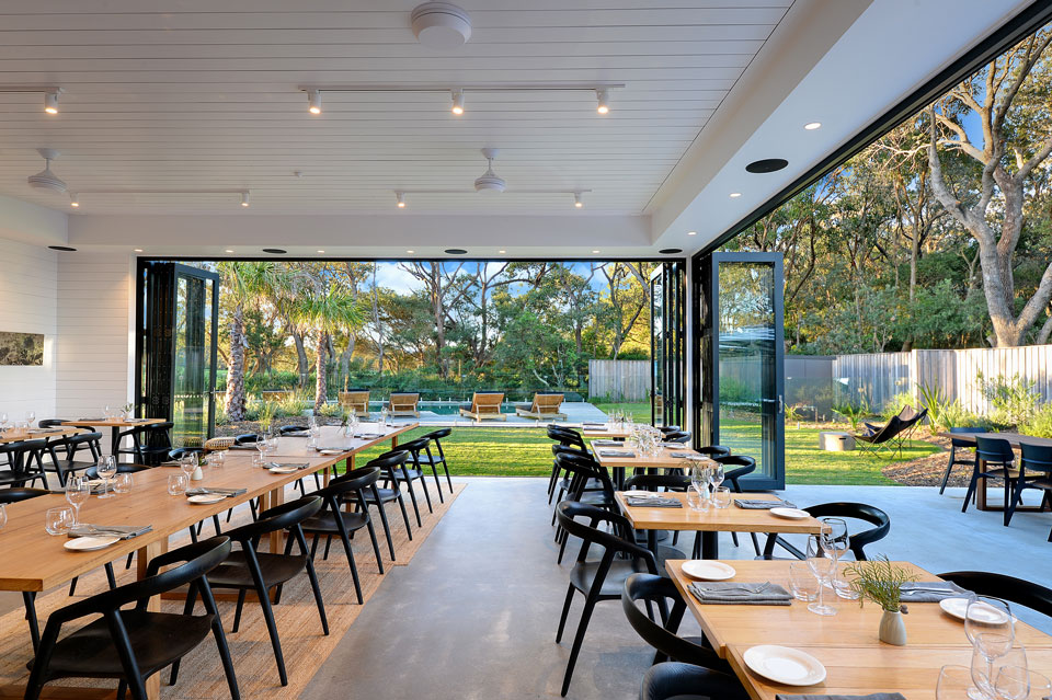 Bangalay Dining showcases the NSW South Coast's premium produce.