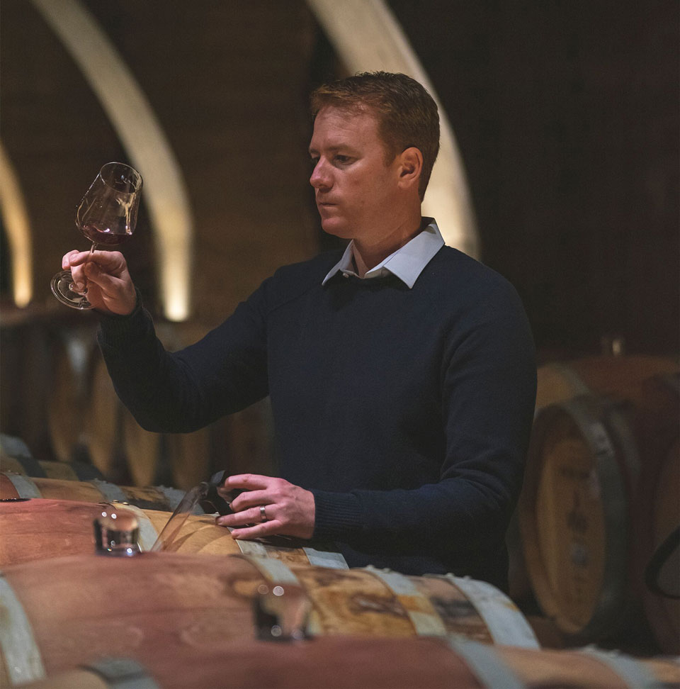 Formerly at Pernod, Ben Bryant is chief winemaker at Mission Hill Wines.