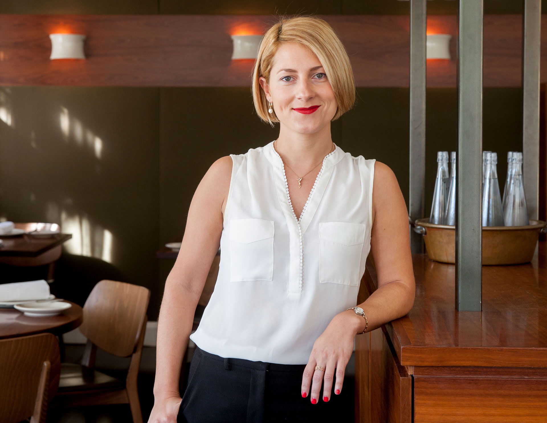 Sixpenny sommelier Bridget Raffal is a candidate for the NZ Wine Sommit.
