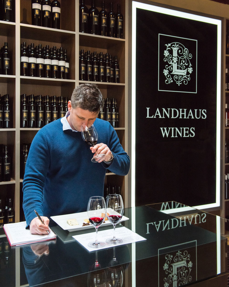 Kane Jaunutis of Landhaus Wines