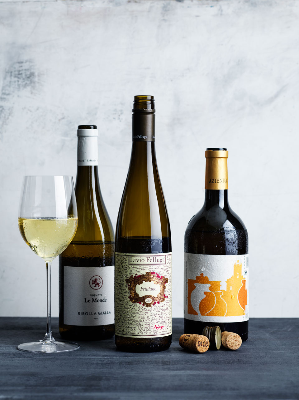 There's a variety for any occasion in the wide and diverse Italian whites.