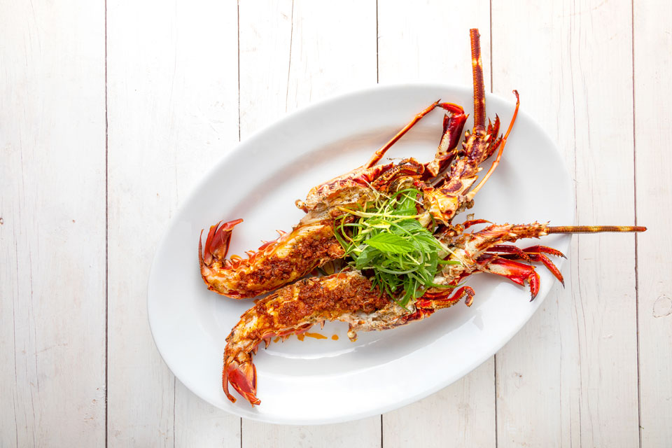 Nguyen's BBQ lobster with San Marzano XO sauce was a favourite.