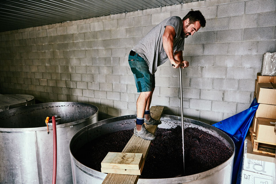 "Bradford works ""smart"" to produce quirky, boutique wines."